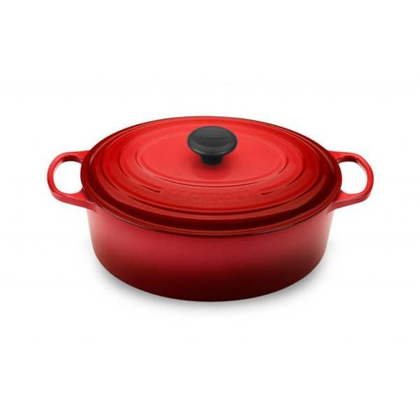 Le Creuset 4.1L Oval French Oven Cherry