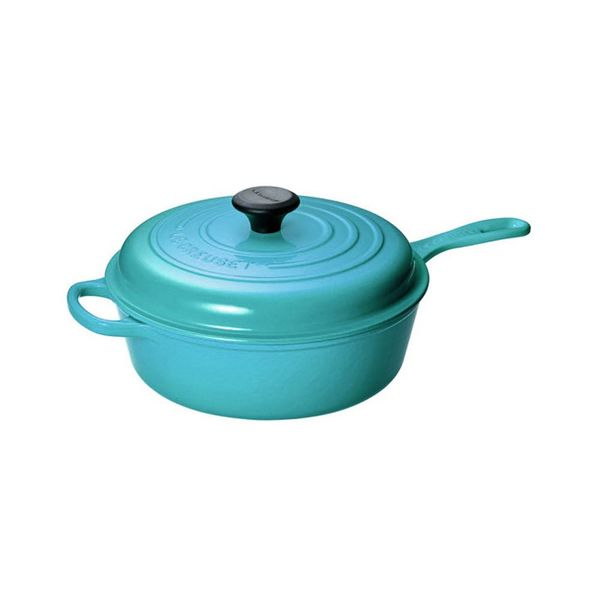 Le Creuset 3.5L Covered Sauté Pan Caribbean