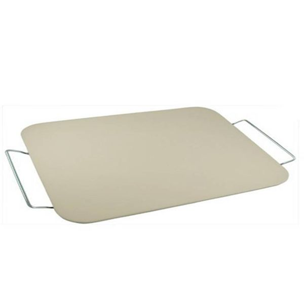 Adamo Rectangular Pizza Stone with Rack