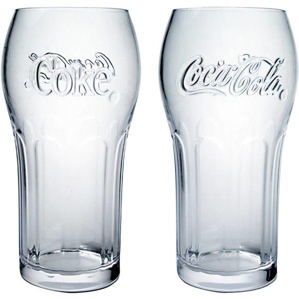 Trudeau Set of 4 Coca Cola Glasses