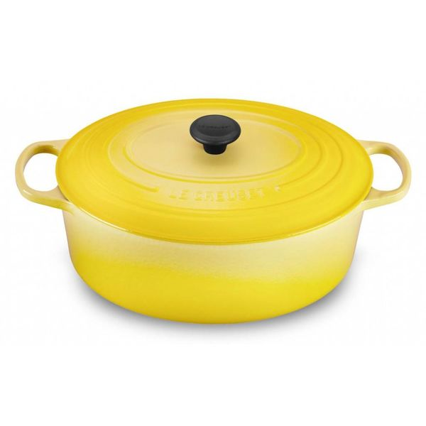 Le Creuset 6.3L Oval French Oven Soleil