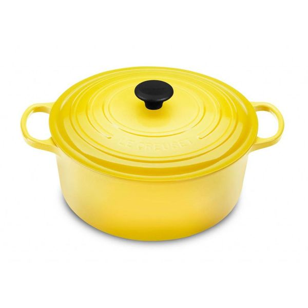 Le Creuset 4.2L Round French Oven Soleil