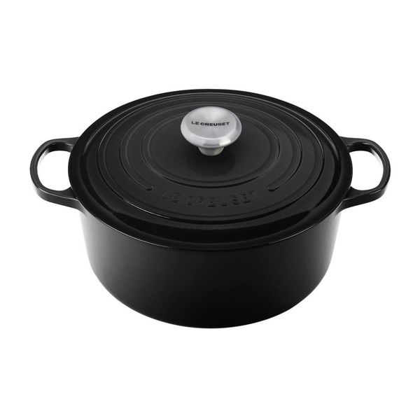 Le Creuset 5.3L Round French Oven Licorice