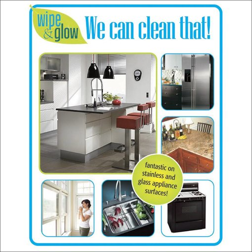 Wipe & Glow Cleaning Cloth