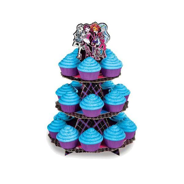 """Étagère à cupcakes """"Monster High"""" de Wilton"""
