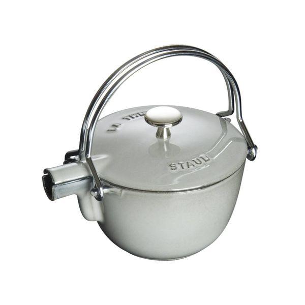 Bouilloire Staub 1.1 L / Fonte / Gris