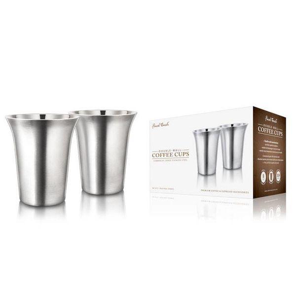 Tasses à café double paroi de Final Touch