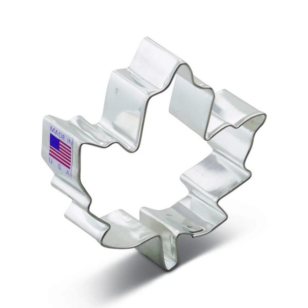 Ann Clark Cookie Cutter Maple Leaf 3.5''