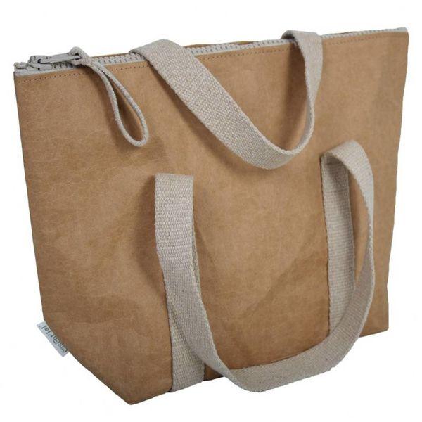 Boîte à lunch en cellulose de Essential 40.5 cm x 29.5 cm x 13.5 cm / Beige