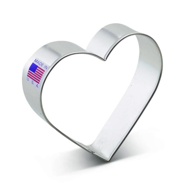 Ann Clark Cookie Cutter Heart 3.25''