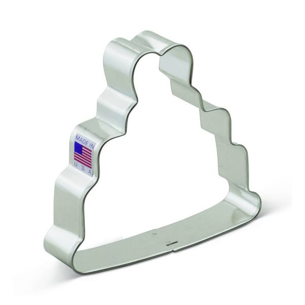 Ann Clark Cookie Cutter Wedding Cake 4''
