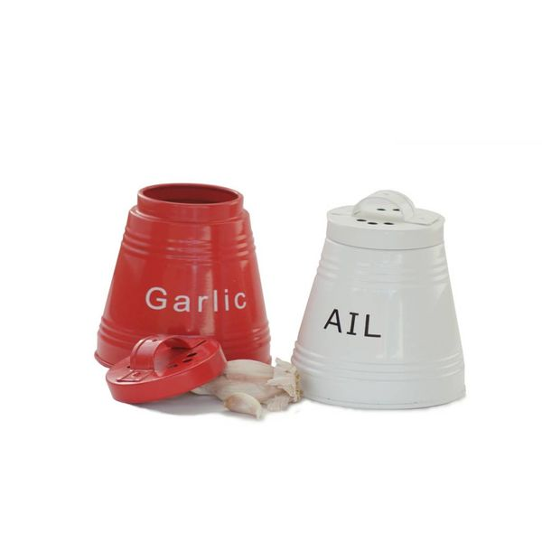 DecorSense Red Garlic Keeper