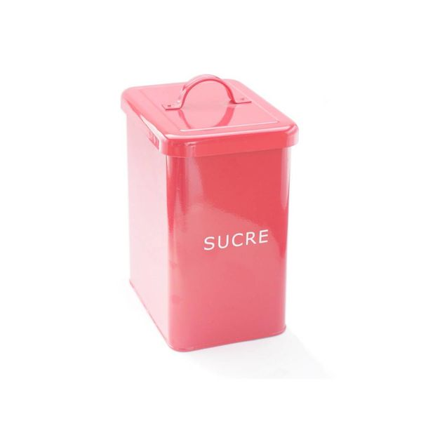 DecorSense Red Sugar Canister