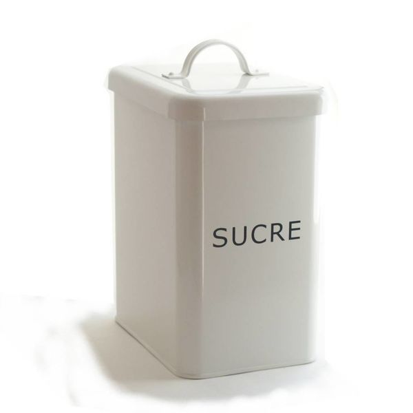 Pot à sucre blanc de DecorSense
