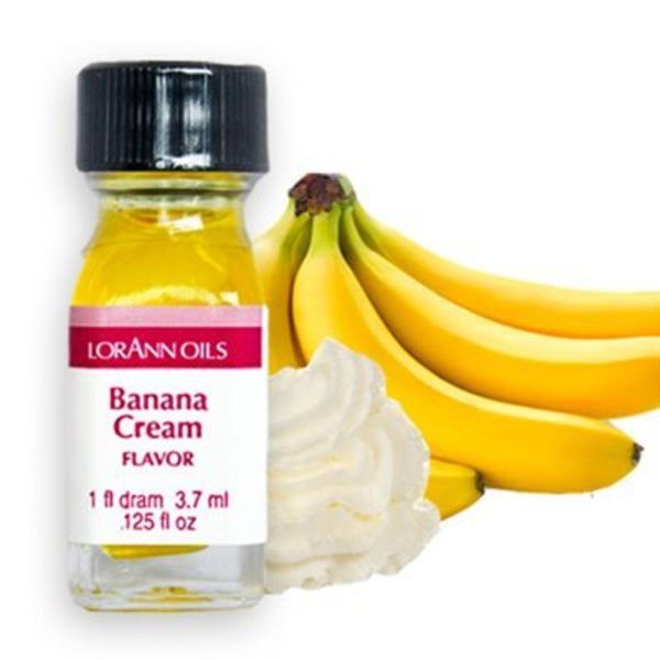 Lorann Oil Banana Cream Flavour 3,7 ml