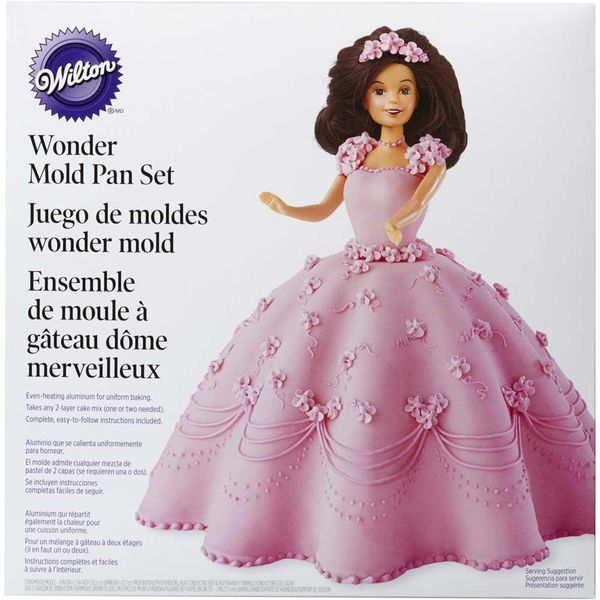Wilton Wonder Mold Cake Doll Cake Kit