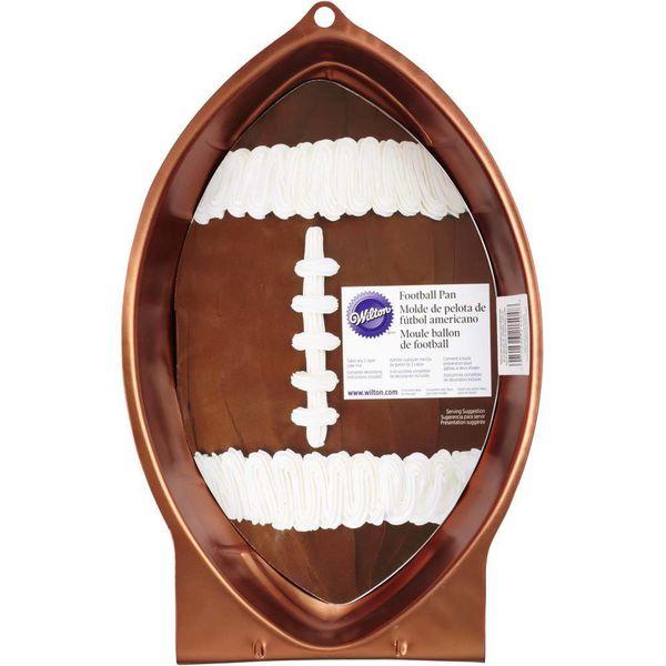 Moule à gâteau style football premier et dix de Wilton