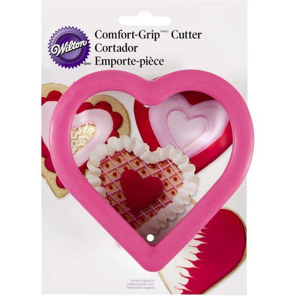 """Emporte-pièce en coeur """"Comfort Grip"""" de Wilton"""