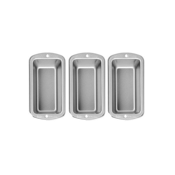 Wilton Recipe Right Mini Loaf Pan Set