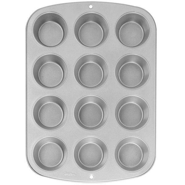 """Moule pour 12 petits muffins """"Recipe Right"""" de Wilton"""