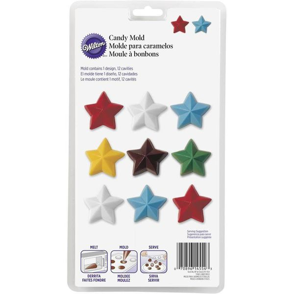 Wilton Stars Candy Mold