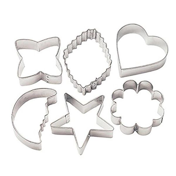 Wilton Basic Metal Cookie Cutters Set