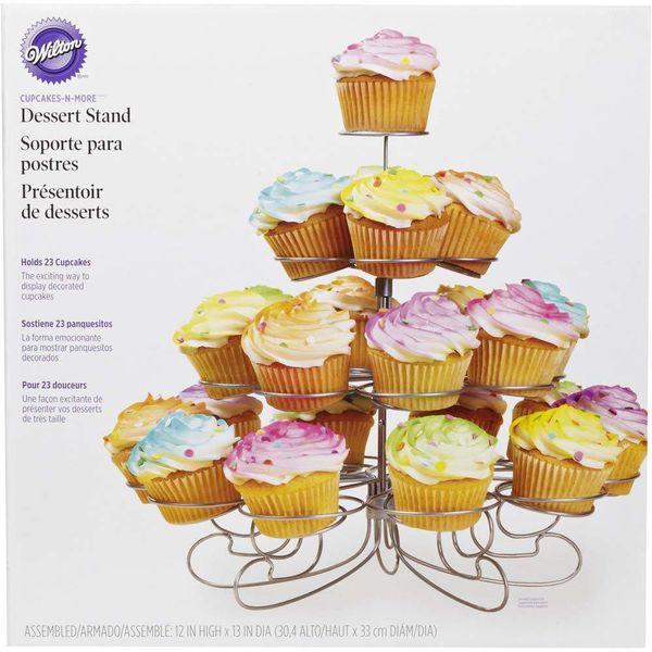 """Support à dessert """"Cupcakes 'N More"""" de Wilton"""