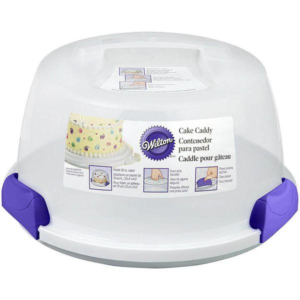 Contenant à gâteau portatif de Wilton
