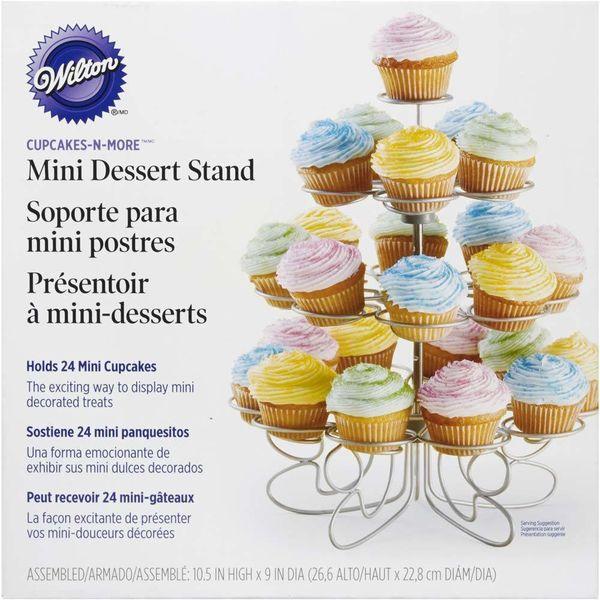 "Mini support à cupcake ""Cupcakes 'N More"" de Wilton"