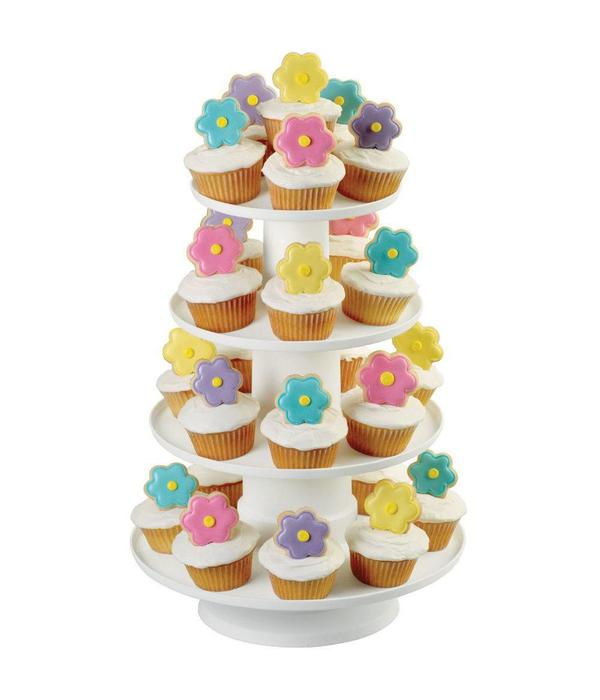 Wilton Wilton Stacked 4-Tier Cupcake and Dessert Tower