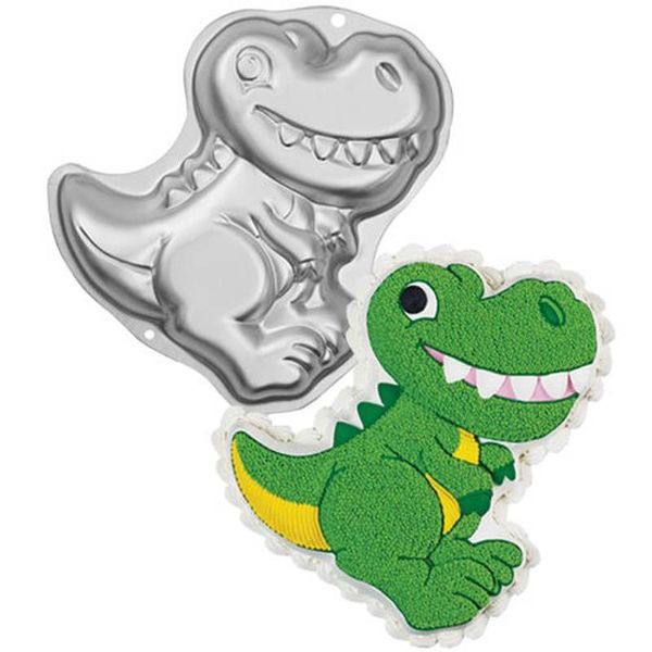 Wilton Dinosaur Shaped Cake Pan
