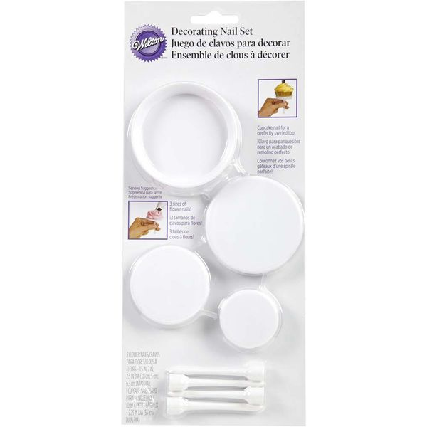 Wilton Decorating Flower Nail Set
