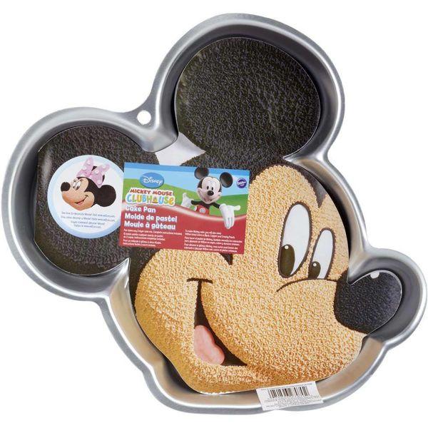 "Moule à gâteau ""La Maison de Mickey"" en forme de Mickey de Wilton"