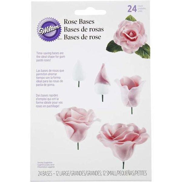 Wilton Rose Bases Set