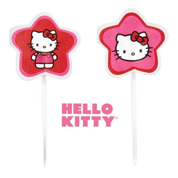 "Pics décoratifs ""Hello Kitty"" de Wilton"