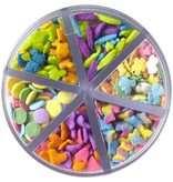 Wilton Wilton Flowerful Medley Sprinkles Set