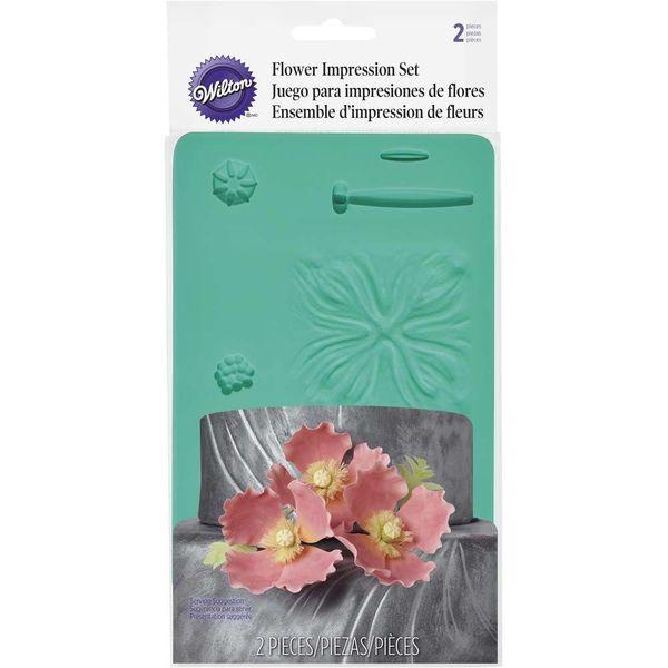 Moule à impression de fleurs de Wilton