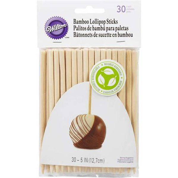 "Wilton 5"" Bamboo Lollipop Sticks"