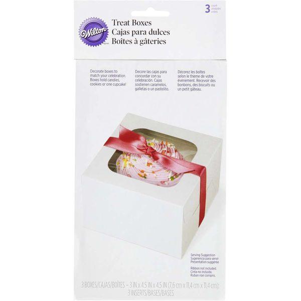 Boîtes à cupcake blanches de Wilton