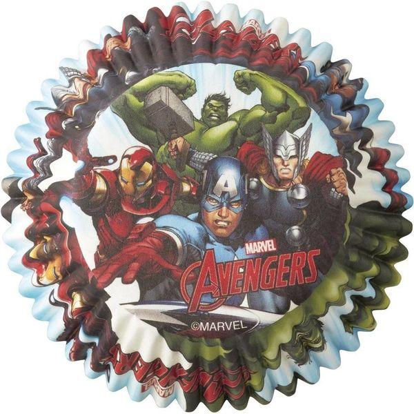 Caissettes de cuisson Les Avengers de Marvel de Wilton