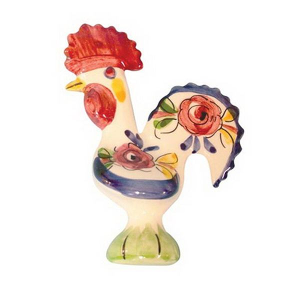 Portugal Imports The Good Luck Rooster 14cm Creme Collection