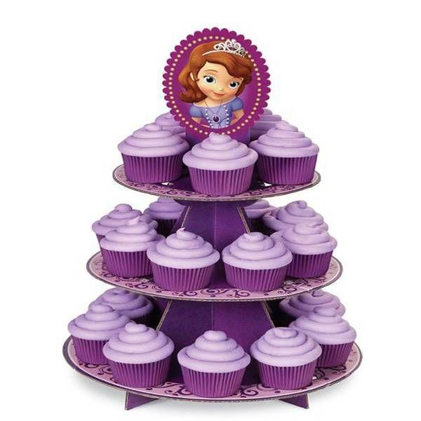 Support à cupcake Princesse Sofia de Wilton