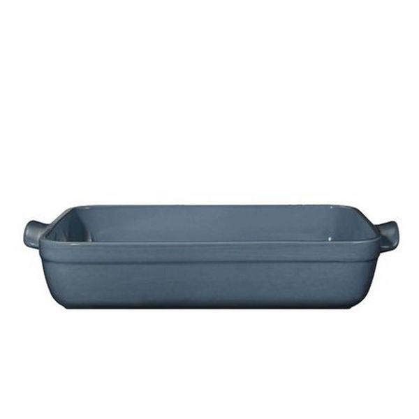 Plat au four rectangulaire Format moyen - Couleur flame bleue de Emile Henry