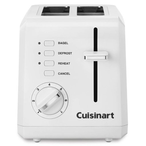 Cuisinart Cuisinart 2-Slice Compact Toaster White