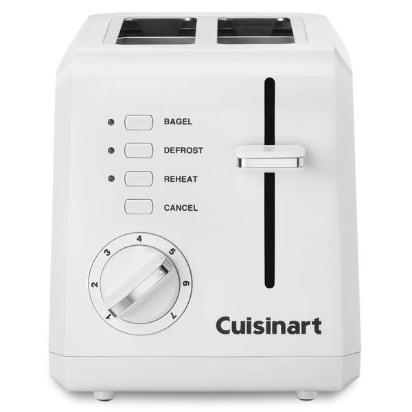 Cuisinart 2-Slice Compact Toaster White