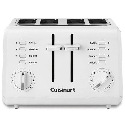 Cuisinart Cuisinart 4-Slice Compact Toaster White