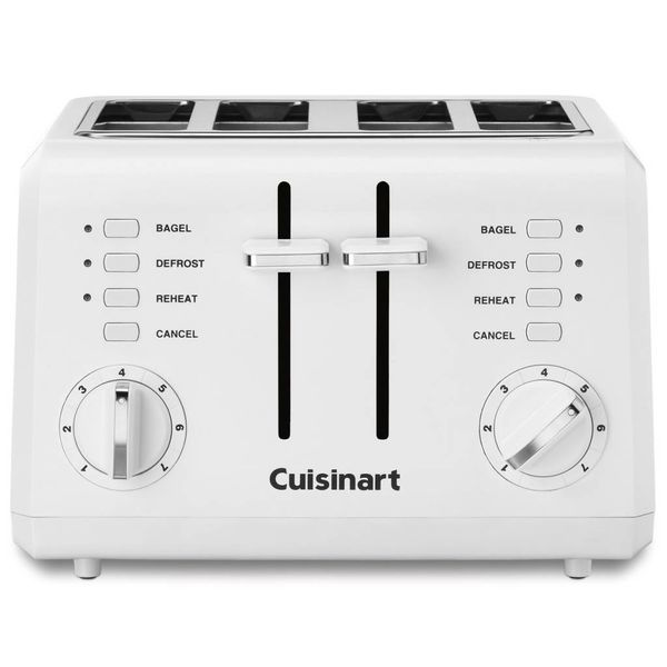 Cuisinart 4-Slice Compact Toaster White