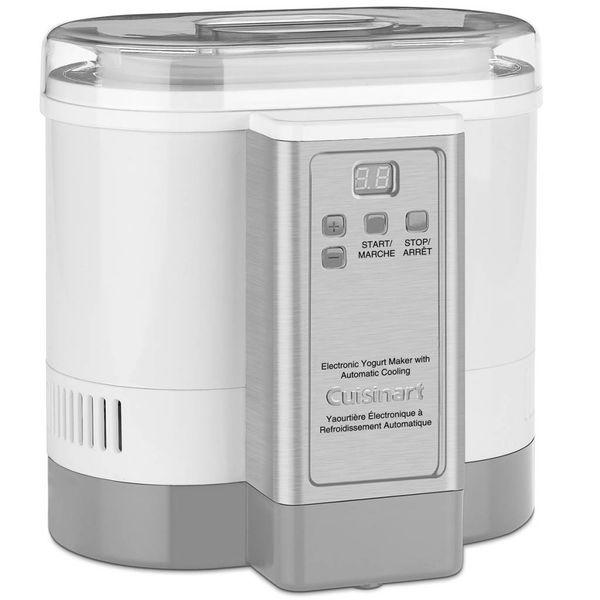 Machine à yogourt électronique avec refroidissement automatique de Cuisinart