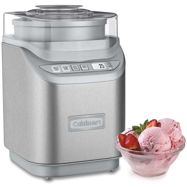 Cuisinart Gelateria Frozen Yogurt, Ice Cream, Gelato and Sorbet Maker
