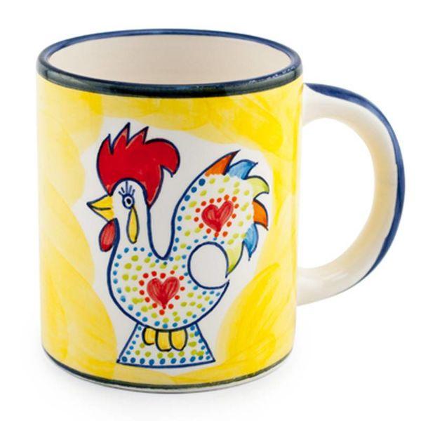 Portugal Imports Joyful Rooster Mug